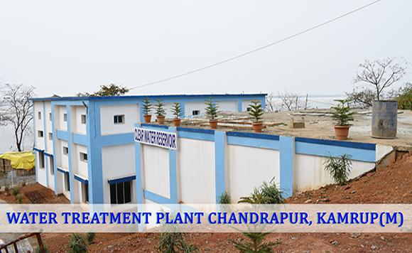 WATER TREATMENT PLANT CHANDRPUR KAMRUP (M)